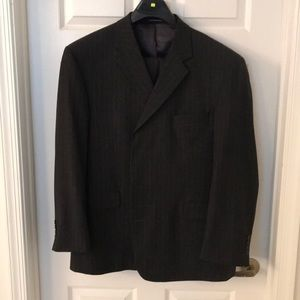 Stafford Suit 48R pants 42x32 pleated